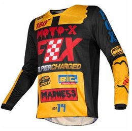 $enCountryForm.capitalKeyWord UK - 2019 motocross Jersey for men downhill cycling mountain bike Jersey quick drying Motocross Jerseys