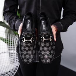 $enCountryForm.capitalKeyWord NZ - Luxury Designer Brand Mens Loafers Black Leather Man Shoe Men Casual Shoes 2019 Men's Loafer Male Moccasins Slip On Shoes Car Driving Shoes