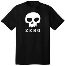 $enCountryForm.capitalKeyWord Australia - Zero Skull Logo Custom T-Shirt Short Sleeve Skater Skateboarding Gear Cool Hip 100% Cotton Short Sleeve O-Neck T Shirt Top Tee Basic