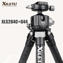Professional Cameras For Photography Australia - XILETU XLS-284C+G44 Professional Photography Carbon Fiber Tripod 360 Degree Panorama Ballhead For Dslrs Cameras