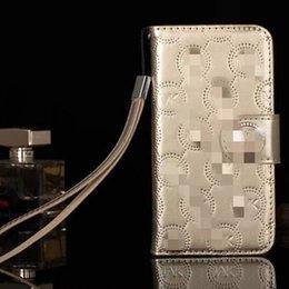 Für iphone xr xs max case designer phone cases flip brieftaschen für iphone 6 7 8 plus mit lanyard kartensteckplatz handyhalter pu leder case m62002