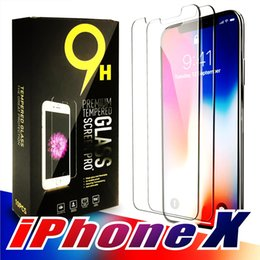 $enCountryForm.capitalKeyWord Australia - 2 PCK For NEW Iphone X XR XS MAX X 8 7 Plus Tempered glass Screen Protector Anti-fingerprint for huawei p30 pro oneplus 7 pro Paper Package