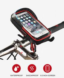 $enCountryForm.capitalKeyWord Australia - WHEEL UP Bike Bicycle Phone Bag Rainproof TPU Touch Screen Cell Phone Holder Bicycle Handlebar Bags MTB Frame Pouch Bag 2017
