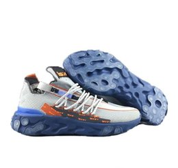 Venta al por mayor de Reaccionar ISPA WR LW medio zapatillas de deporte de diseño para hombres formadores masculino zapatos corrientes de los deportes Zapatos hombre que activan hombres del zapato de la zapatilla de deporte del hombre