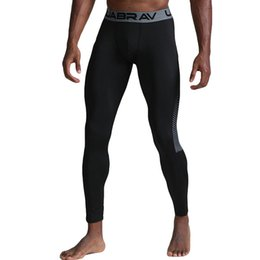 thermal leggings man s Australia - Men's Thermal Casual Pants Fitness Absorption Fast Drying elastic Long Pants Compression Tights Skinny Leggings Trousers 8.14
