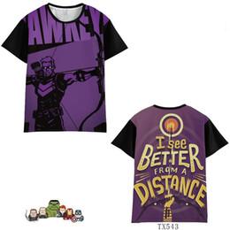 $enCountryForm.capitalKeyWord Australia - Marvel Avengers 4 Caption America Iron Man Raytheon Hulk Short Sleeve Summer Men Women Trend Clothing Cosplay Costumes T-Shirt