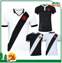 1d1dab76a12c0 19 20 Brazil Vasco da Gama Soccer Jerseys MAXI Y.PIKACHU A.RIOS PAULINHO  FABIANO MURIQ Custom 2019 2020 Home Road Black White Football Shirt