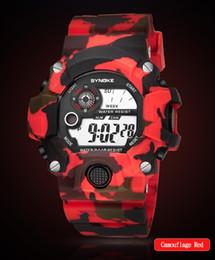 $enCountryForm.capitalKeyWord NZ - Montre Homme Men's Watches Multi Function Sports Watch LED Digital Dual Movement Wrist Watch Round Buckle Plastic Reloj