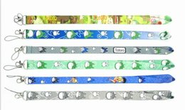totoro mobile UK - Wholesale 20pcs anime Totoro mixed Lanyards For ID Card Lanyard Badge Mobile Phone Key Chain Neck Straps gifts#5456