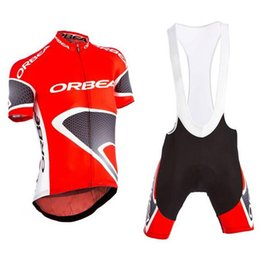 Wholesale ORBEA team Cycling Short Sleeves jersey Bicycle Clothing Lycra summer MTB Bike Ropa Ciclismo shorts sets free delivery