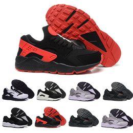 34d6747509e6 2018 Cheap Air Huarache 2 II Ultra Classical all White And Black Huaraches  Shoes Men Women Sneakers casual Shoes Size 36-45