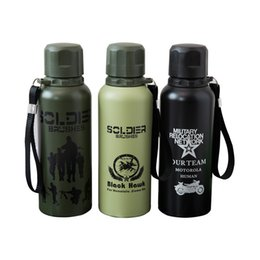 $enCountryForm.capitalKeyWord Australia - stainless steel tumbler stCross-border camouflage camping insulation bottle travel field stainless steel outdoor camping supplies cups