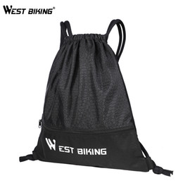 climb helmets Australia - 15L Portable Outdoor Bags Cycling Helmet Bag Backpack Climbing Drawstring Bags Basketball Gym Sports Travel Hiking Accessories