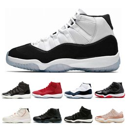 RetRo 11s black Red online shopping - air jordan retro s Mens Basketball Shoes Concord Cap and Gown Legend Blue Space Jam XI Women Sport Sneakers Shoes