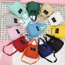 $enCountryForm.capitalKeyWord Canada - Free2019 Small Group Fresh Hair Canvas Women's Singles Shoulder Portable Dual Purpose Letter Student A Bag All-match Cable Satchel