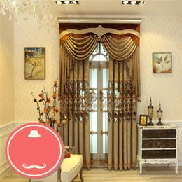 $enCountryForm.capitalKeyWord NZ - curtain European-style luxury luxury curtains lace water soluble hollow embroidery bedroom living room custom finished curtains