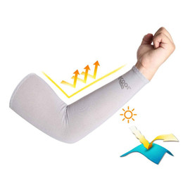 Arm sleeves golf sun protection online shopping - Arm Sleeves Warmers Safety Sleeve Sun UV Protection Sleeves Long Arm Cover Cooling Warmer for Running Golf Cycling Summer