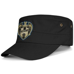 rock snapback NZ - Womens Mens Washed Cap Hat Flat-along Adjustable Levante UD Granotas Golden series Rock Punk Cotton Snapback Cap Bucket Sun Hats Cadet Army
