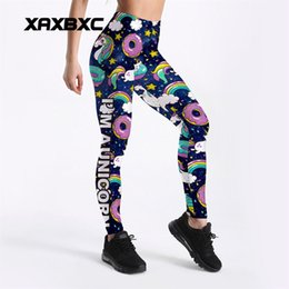 $enCountryForm.capitalKeyWord NZ - 2018 New Rainbow Unicorn Galaxy Donut 3D Prints GYM Fitness Push Up Sexy Women Sport Yoga Pants Female Leggings Plus Size #310216