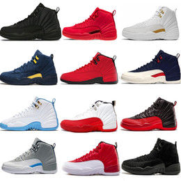 $enCountryForm.capitalKeyWord Australia - 12 New 12s Basketball Shoes For Men Winterized Wntr Michigan Taxi Playoffs Blue Gym Red Black White Mens Sports Sneaker Trainers