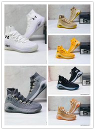 top best basketball shoes Australia - Three-point shot Last-gasp goal Curie high-top basketball shoes aunder Armoure 2019 NEw Arrive best quality Sneakers trainers men sneaker
