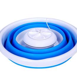 Ultrasonik katlama kova mini taşınabilir çamaşır makinesi Yüksek frekanslı titreşim kavitasyon süper titreşim önleyici çarpışma dalga