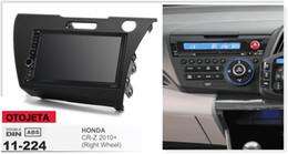 $enCountryForm.capitalKeyWord Australia - Fit for honda CR-Z 2010+ RHD quad core android 8.1 frame plus car radio stereo multimedia tpms, obd dvr tape recorder gps