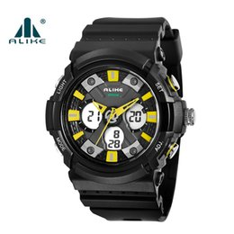 $enCountryForm.capitalKeyWord NZ - Hot new style relogio men's sports watches LED chronograph watches military watch digital watch men & boy gift with box dropship