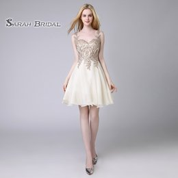 Queen Dress Cheap NZ - 2019 Ivory Cheap Graduation Dresses Lace Chiffon Backless Mini Prom Party Queen Beaded Cocktail Dress Gowns Homecoming Dress LX418