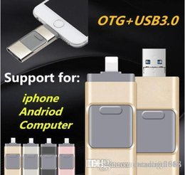 $enCountryForm.capitalKeyWord Australia - 32GB USB Flash Drive U Disk Memory Stick for Apple iPhone 5 5S 6 6s plus iPad OTG Pendrive For Android iOS PC
