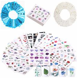 Großhandel Heißes verkaufendes Wassertransferpapier der Frauen, Schönheits-buntes Nagel-Aufkleber-Set, Geschenke der Dame und des Mädchens, Papier Nizza