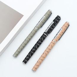 $enCountryForm.capitalKeyWord Australia - 1PC M&G Fountain Pen Posture Correction Hooded Nib 0.5mm Ink Pens for Writing Metal Office Pens Stationery School Supplies