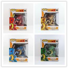 $enCountryForm.capitalKeyWord Australia - 10PCS DHL 4 Color Dragon Ball Z Funko POP Super Saiyan Son Goku 15cm dragon PVC Action Figure Model DragonBall Toy