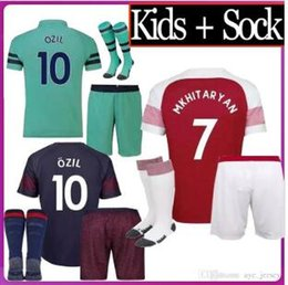 9536f1e88 Thailand soccer jersey football shirt uniforms Kids kit boys 2018 2019  AUBAMEYANG LACAZETTE MKHITARYAN WILSHERE 18 19 RAMSEY OZIL jerseys
