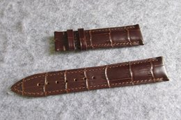 X Replace Australia - 20MM x 18MM CALATRAVA TOP best QUALITY cow GENUINE LEATHER STRAP BAND used FOR luxury men WATCH REPAIR BRACELET REPLACE FIX ACCESSORY