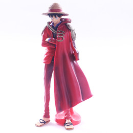 one old bags UK - Pirates Nautical King 20th Anniversary KOA Cloak Monkey D Luffy Hand Office Model Decoration Beautiful Gift