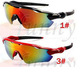 Bicycles alloy online shopping - summer brand NEW FASHION sun glasses man Sports Eyewear women Eye colors ra dar Bicycle Glass Travel glasses A colors