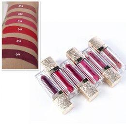 Lipstick Matte Colours Australia - Lip Colours 6 Colors Moisturizing Matte Liquid Lipstick Color Pay Off Long Lasting Juicy Lip Gloss Makeup Nourish Comfort Lips