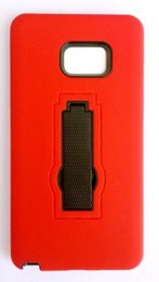 Custom pC Cases online shopping - In Stock For Iphone Black Red Fashionable Custom Soft TPU Hard PC Hybird Kickstand Shockproof Protective Phone Case Cover