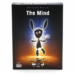Wholesale The Mind Card Game Board Game Meld minds with your fellow players to play cards in order WITHOUT talking