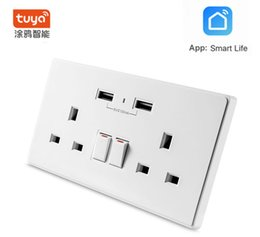 Android Ios Wifi Control NZ - Smart Wifi Socket Switch US Plug Remote Control Socket Outlet Timing Switch Socket for Smartphone Android IOS Home Automation