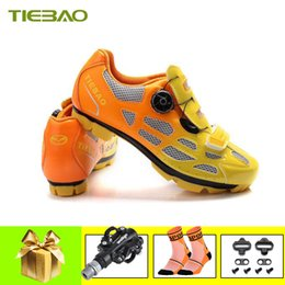 Cycle Pedals Mountain Australia - Tiebao sapatilha ciclismo mtb Pedals Cycling shoes self-locking breathable mountain bike shoes zapatillas deportivas hombre
