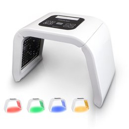 light therapy wrinkle machine UK - 4 Color PDT LED Light Therapy Machine Face Skin Rejuvenation Tighten Remove Acne Wrinkle LED Facial Beauty SPA PDT Therapy