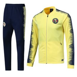 $enCountryForm.capitalKeyWord NZ - 18 19 Mexico Cougar jacket tracksuit C.DOMINGUEZ P.AGUILAR Mexico Club America Training suit Club America Jacket Pants