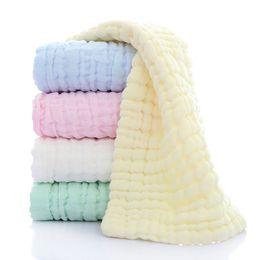 Infant Baby Washcloth Australia - Comfortable Baby Soft Bath Towel Washcloth Bathing Feeding Wipe Cloth Natural Harmless Infant Baby Towel 3pcs set