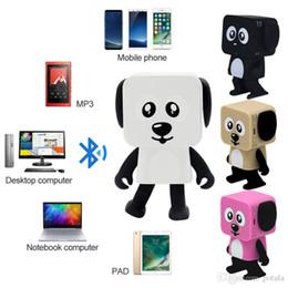 $enCountryForm.capitalKeyWord Australia - Bluetooth Speaker Walking Dancing Robots brinquedos kids toys Mini Cubic Puppy Dog RC Robot Remote Control Line electric turbo Action Figure