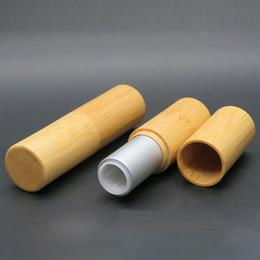 $enCountryForm.capitalKeyWord Australia - Empty Lipstick bamboo Tube Container DIY Lip Stick Makeup Containers, Lip Balm Tube Containers, Bamboo Lip Stick Tubes Set