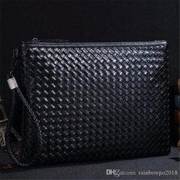 $enCountryForm.capitalKeyWord Australia - sales brand male Bag Fashion crocodile hand clad small monster leather Han plate hand grab bag tide male crocodile letter envelope