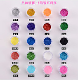 painting faces Australia - 20Pcs Colors Set Handmade DIY Flash Diamond Glitter Powder for Temporary Tattoo Kids Face Body Painting Decorate Christmas 10ML