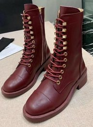 rubber ankle rain boots 2020 - Brand Design Women Cow leather Short Boots fashion High Top Western Motorcycle Knight Desert Rain Boots Winter Snow Half